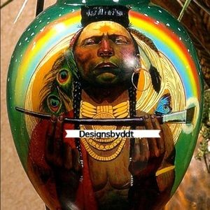 Ornament Indian paint brush Thomas Blackshear 808